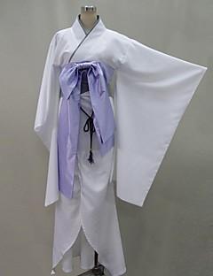 Inspirovaný Vampire Knight Hiou Shizuka Anime Cosplay kostýmy Cosplay šaty / Kimono Patchwork Biały Dlouhé rukávyYukata / Korzet /