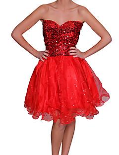 beautifly 여성 패션 어깨 끈 볼 가운 드레스