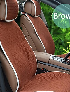 Filled with Bamboo Charcoal Purifying Air All Seasons General 6 PCS Set Car Seat Covers Universal Fit Car Accessories