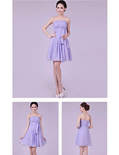 A-line/Princess Bateau  Short / Mini Cocktail Dress