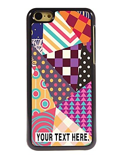 caixa personalizada caixa de metal estilo elegante para iphone 5c