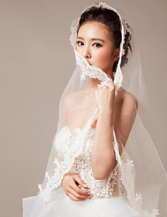 Simple Lace Veil Bride Princess Accessories