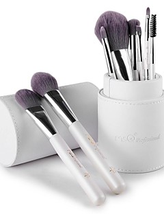 msq® 8pcs fiber vit makeup borste set
