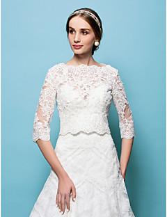 Krajka - Svatební zábaly (Bílá/Béžová
