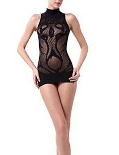 Sexy Girl Black Floral Lace Lingerie Sexy Uniform