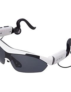 universal del teléfono móvil Bluetooth Stereo Headset montado en la cabeza de mini lentes de sol inteligentes (colores surtidos)