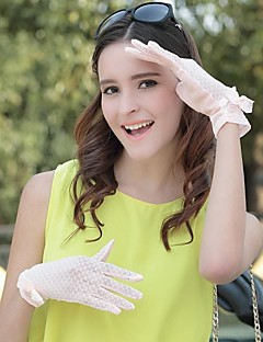Women Cotton Blend/Lace Gloves , Cute/Party/Casual
