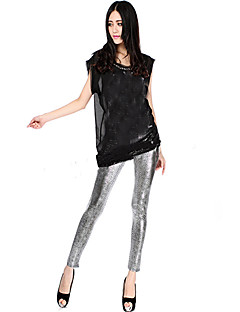 Women's Snakeskin Design Legging