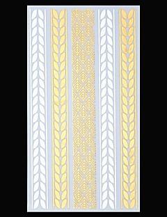 Smykke Serier - Tatoveringsklistremerker - Mønster/Korsryggen/Waterproof - Papir - 1 - 23.5*11cm Dame/Herre/Voksen/Tenåring