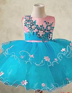Flower Fairy Kids Blue&Pink Performance Christmas Costume