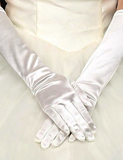 Satin Opera Length Wedding/Party Glove