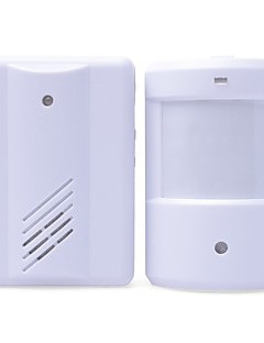 Entry Door Bell Alarm Chime Doorbell Wireless IR Infrared Monitor Sensor Detector Split Alarm