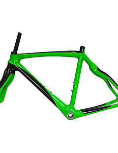 Neasty Brand 700C Full Carbon Fiber Frame and Fork Green Color Painted 48/50/52/56CM