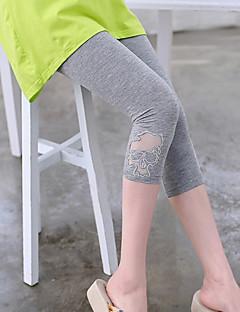 Maternity Mesh Trouser Legs Slim Legging Abdominal Capri Pants