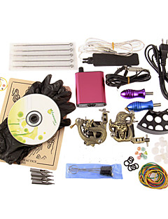 2 Tattoo Machine  Mini Power Supply Tattoo Kits