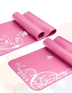 Mats Yoga - 6 - di NBR - Rosa/Viola/Royal Blue