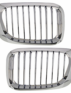 Silver Chrome Grille Grill Kidney For BMW E46 2 door M3 98-03