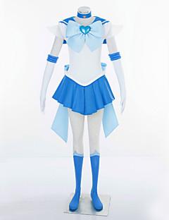 Cosplay Costumes - Sailor Moon - Sailor Uranus - Vestido/Peça para Cabeça/Bandana/Luvas/Laço