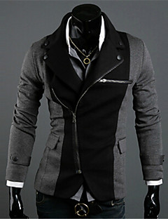 2015 High Quality New Fashion Men Suit Formal Grey Men's