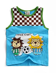 T-shirt-Chłopca-Lato-Kratka-Bawełna
