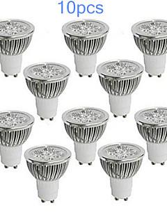 10 stuks MORSEN GU10 5 W 350-400 LM Warm wit / Koel wit MR16 Spotjes AC 85-265 V