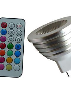 Spot Gradable / Commandée à Distance / Décorative RGB / Couleurs Changeantes SchöneColors 1 pièce MR16 GU5.3 4 W 1PCS LED Haute Puissance