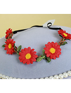 Leather/Fabric Headband , Vintage/Cute/Party/Work/Casual Acrylic