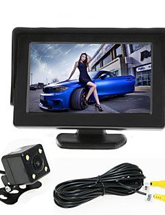 renepai® 4.3 ιντσών οθόνη + 170 ° HD αυτοκίνητο πίσω όψη της κάμερας + υψηλής ευκρίνειας σε ευρεία γωνία αδιάβροχη φωτογραφική μηχανή CMOS