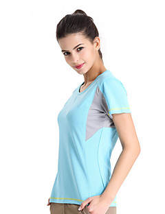 Running T-shirt / Tops Women's Short Sleeve Breathable / Quick Dry / Anti-Insect / Wearable TeryleneCamping & Hiking / Climbing / Fitness