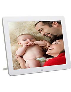 12 colos képernyő hd 800 * 600 szupervékony digitális képkeret teljes működőképessége fotó / zene / videó