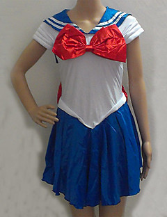 Sailor Moon Blue and White Spandex Sailor Uniform (One Size)