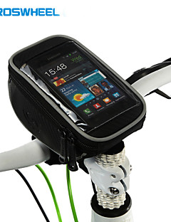 ROSWHEEL® Bike Bag 1.5LCell Phone Bag / Bike Handlebar Bag Multifunctional / Touch Screen Bicycle Bag PVC Cycle BagIphone 4/4S / Iphone