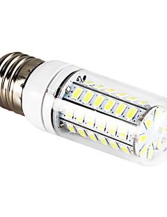 E26/E27 12 W 56 SMD 5730 1200 LM Natural White Corn Bulbs AC 220-240 V
