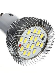 7W GU10 Spot LED 16 SMD 5630 520-550 lm Blanc Froid AC 85-265 V 1 pièce