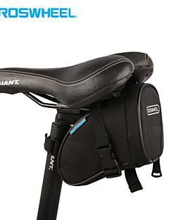 ROSWHEEL® תיק אופניים 1.2Lתיקי אוכף לאופניים רב תכליתי תיק אופניים 600D ריפסטופ תיק אופניים ספורט פנאי / רכיבה על אופניים 15.5*9*8