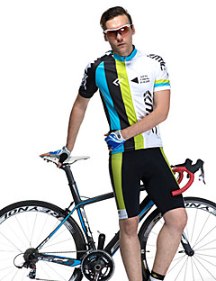 SANTIC® Cycling Jersey with Shorts Men's Short Sleeve Bike Breathable / Quick Dry / Wearable / Sweat-wickingArm Warmers / Jersey + Shorts
