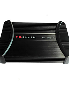 Nakamichi NK-300.1  Uniquely Designed High Efficient Power Transformer Mono Block Class-A/B Car Amplifier