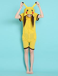 poche coton adulte style unisexe été peu pikachu monstre pyjama Kigurumi onesie animal vêtements de nuit
