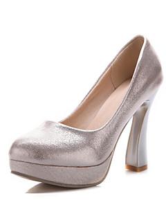 Női - Magassarkú - Esküvői cipők - Magassarkú - Esküvői / Party és Estélyi - Fekete / Ezüst / Arany