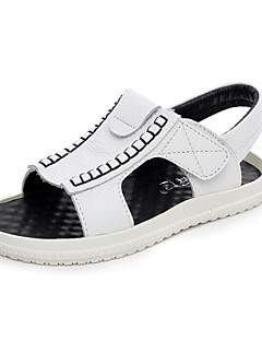 Boys' Shoes Wedding/Outdoor/Party & Evening/Dress/Casual Leather Clogs & Mules Black/Yellow/White
