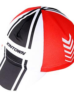 xintownユニセックス赤いスポーツ帽子フリーサイズスポーツキャップをウィッキング通気性の限界菌取り外し可能なキャップ
