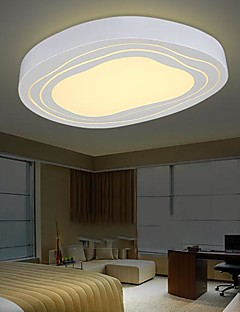 Flush Mount LED  with Remote Control Modern/Contemporary Living Room/Bedroom/Dining Room/Study Room/Office Metal