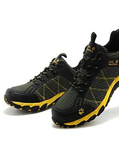 남성의 - 러닝/하이킹/레저 스포츠/배드민턴/백컨츄리 - 운동화/뾰족한 토에/레이스 업/하이킹 신발/등산 신발 ( 블루/후쿠시아