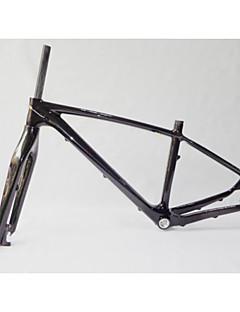 """NEASTY Mountain bike Completamente in Carbonio Bicicletta Telaio 27.5"""" Lucido Unidirezionale 43/48 cm 17""""/19"""" pollice"""