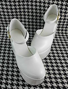 Handarbeit weiß 10cm hohen Absatz Sweet Lolita Schuhe