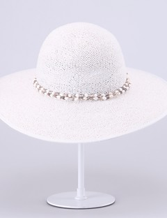 Women Casual Summer Straw Floppy Hat