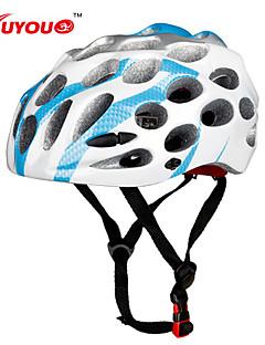Capacete ( Preto/Azul/Azul Claro/Laranja/Como na Imagem , PC/EPS ) - Montanha/Estrada/Esportes - Unisexo 39 AberturasCiclismo/Ciclismo de