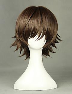 Junjou Romantica Takahashi Misaki Brown 35cm Cosplay Wigs