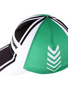 xintownユニセックススポーツの帽子、通気性防塵制限菌取り外し可能なキャップフリーサイズヨガ緑キャップ
