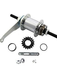bisiklet aksesuarı sabit vites bisiklet pedal freni arka göbek 32 delikli demir
